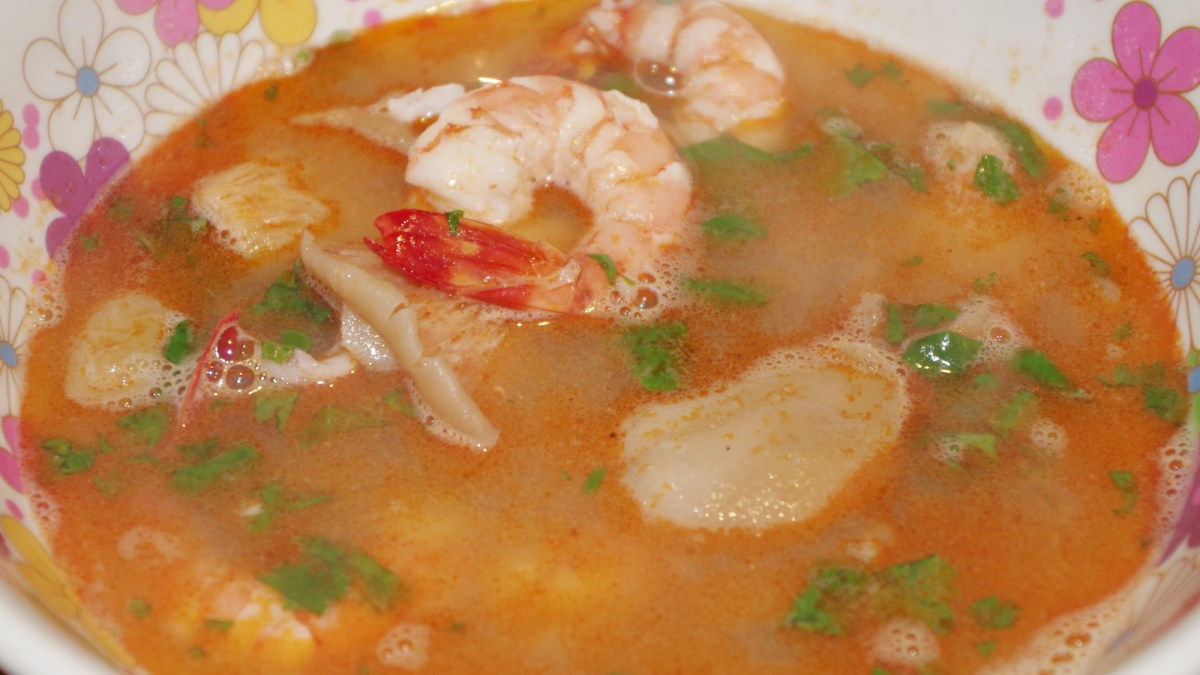 Soupe Tom Yum Goong