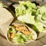 Wrap de poulet sauce ranch - recette américaine - cuisine US © par Fanny GRW - Recettes d'ici et d'ailleurs
