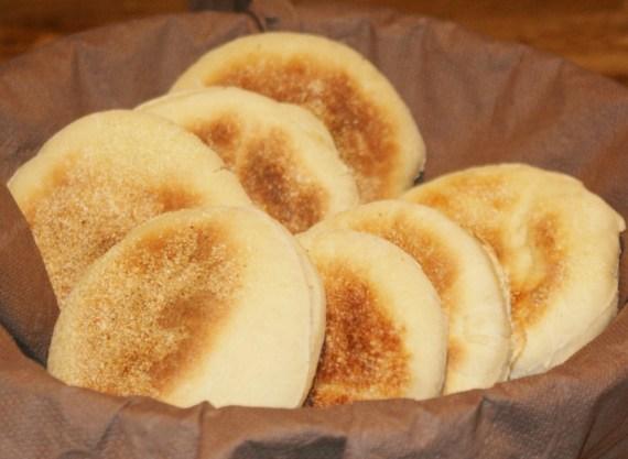 Muffins anglais - Cuisine brittanique © par Fanny GRW - Recettes d'ici et d'ailleurs