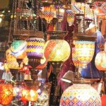 Lampes au grand bazar d'Istanbul © Balico & co