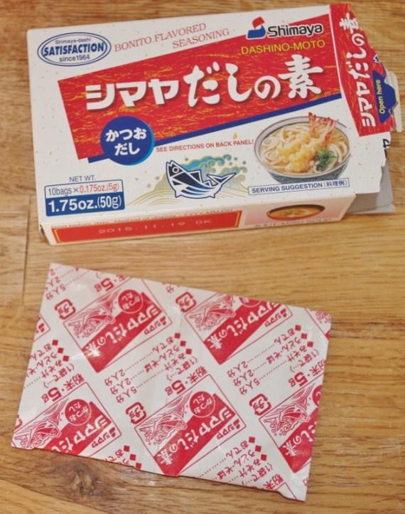 Le dashi est le bouillon pour préparer la soupe miso