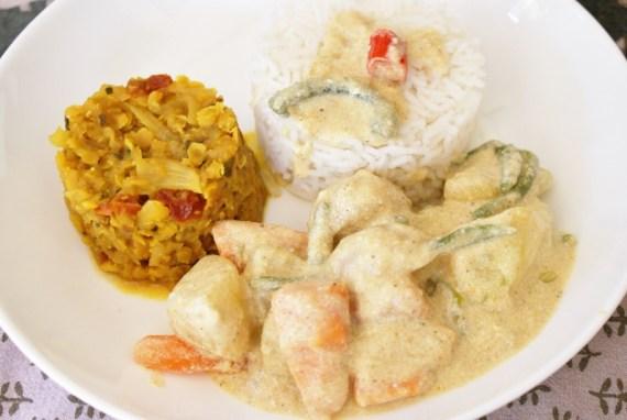 Curry de légumes Avial - cuisine indienne © Balico & co
