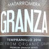 Granza Tempranillo 2014