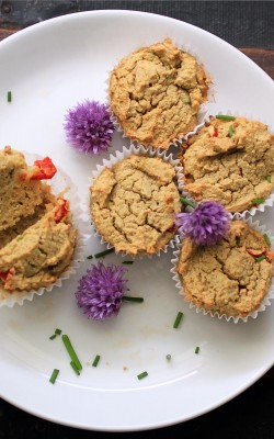 Thai Coconut Curry Chicken Muffins- Gluten and Dairy Free!
