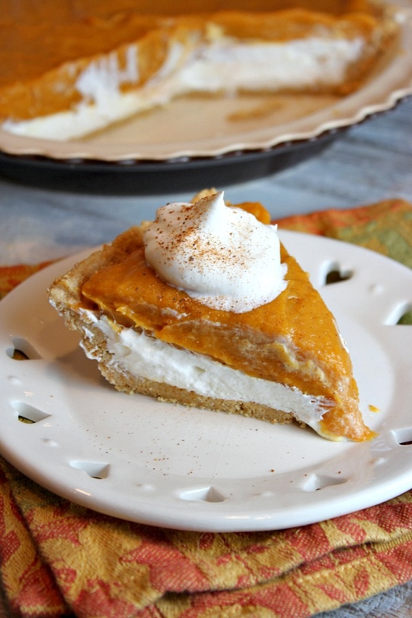 Paleo Double Layer Pumpkin Cheesecake