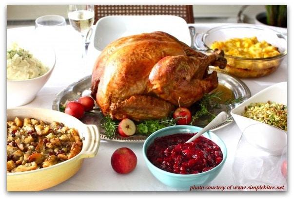 Traditional Thanksgiving Dinner Menu - Recipe Girl