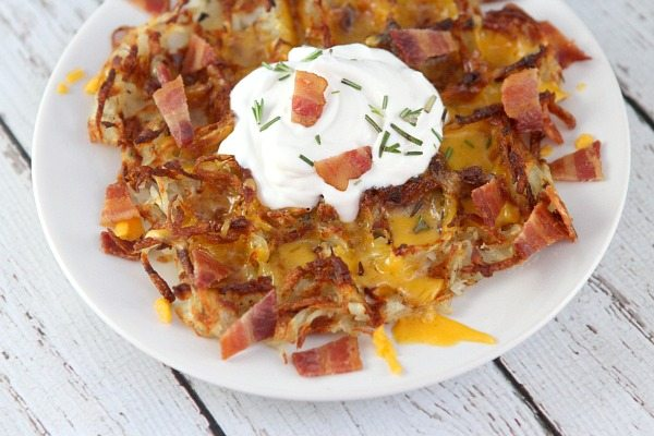 Hash Browns Made In The Waffle Iron - Recipe Girl