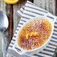 Yuzu Crème Brulees