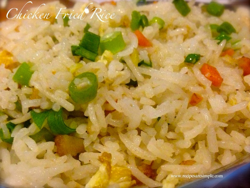 how to cook chicken fried rice indian style