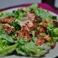 Peppery Salmon Salad