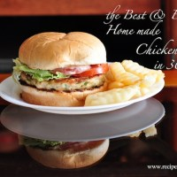 Best Home Made Chicken Burger