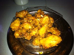 cereal chicken fried
