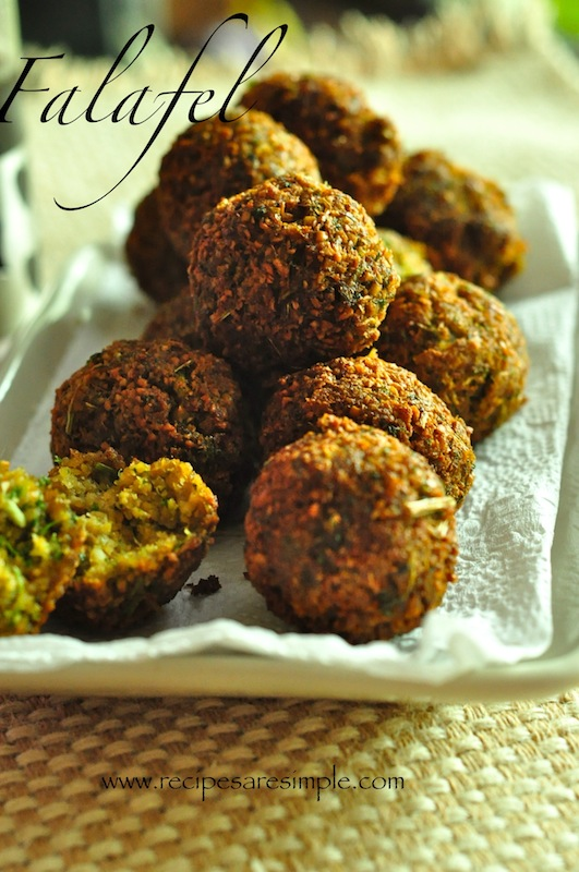 Falafel – Simple Chickpeas and Parsley Patties – Lebanon