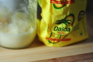 dalda for shell topping