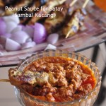 Best Malaysian Peanut Sauce for Satay