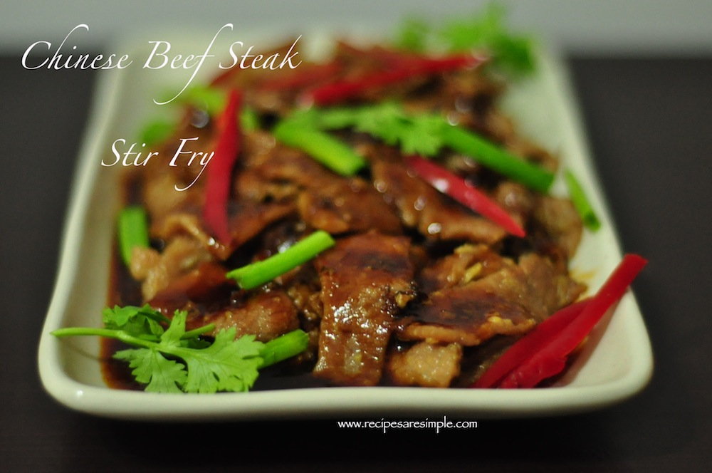 chinese beef steak