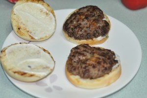 home made beef burger -.beef pattyJPG
