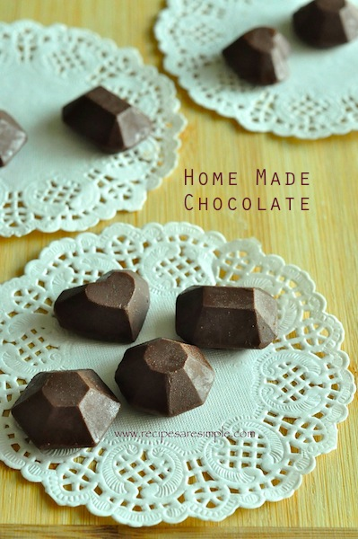 home made chocolate