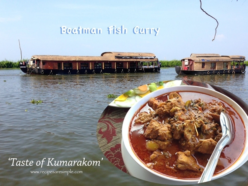 Kuttanadan Fish Curry- kumarakom recipe