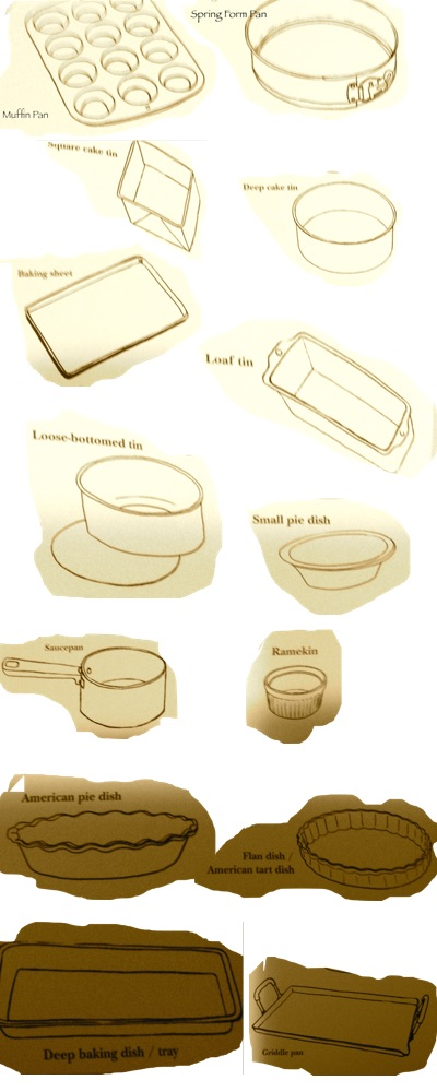 types of bakeware