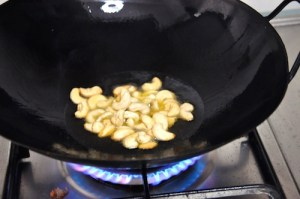 cashews for green chili fried rice