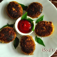 kerala beef cutlet recipe