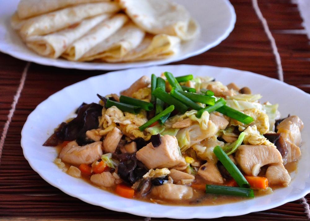 Mu Shu Chicken & Chinese Pancakes - Recipes 'R' Simple
