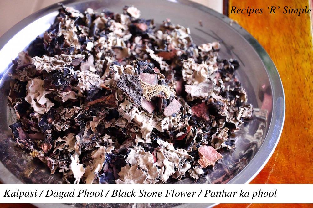 Black Stone Flower | Patthar ka Phool | Dagad Phool | Kalpasi Black Stone Flower