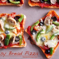 easy bread pizza