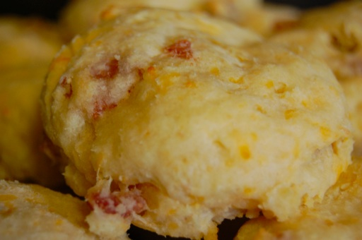 Paleo Country Ham and Cheese Biscuits