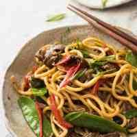 Spicy Beef Hokkien Noodles