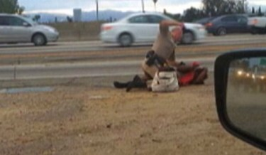 CAUGHT ON CAMERA: California Highway Patrol Officer Beating Black Woman