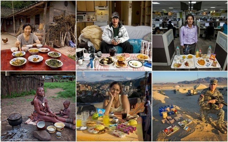 What People Eat Around the World  Amusing Planet
