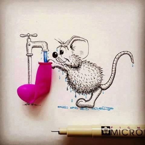 10 Beautiful  Amazing Mice Arts So Cute Reckon Talk