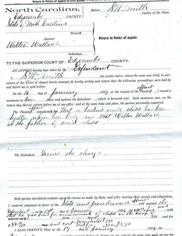 NC Bastardy Case 3