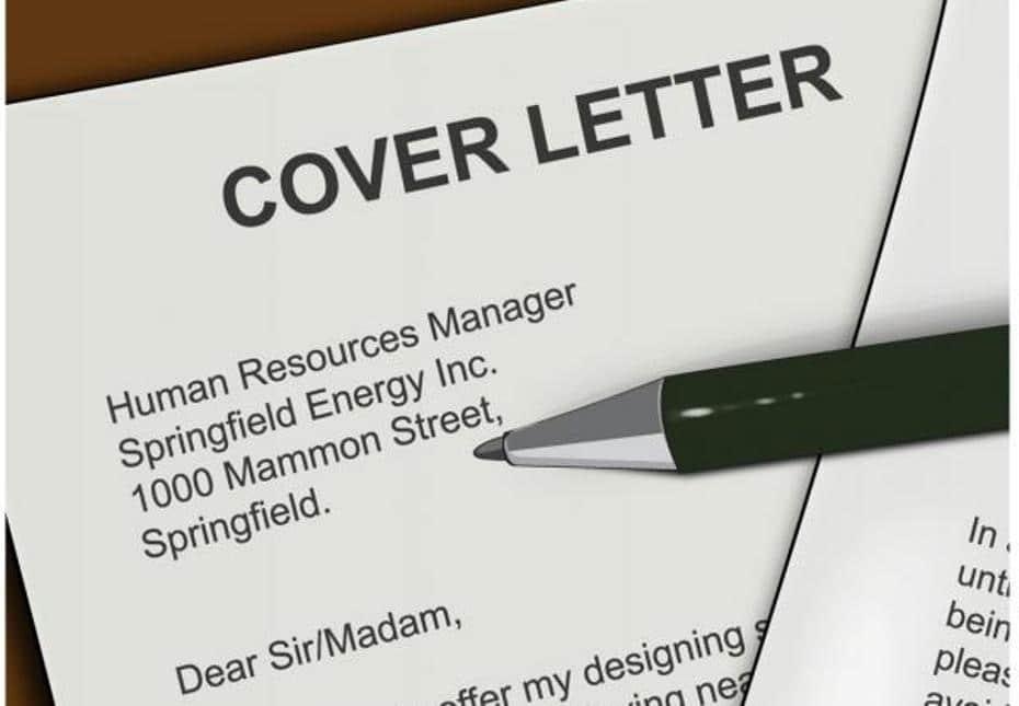 cv et lettre de motivation erreur
