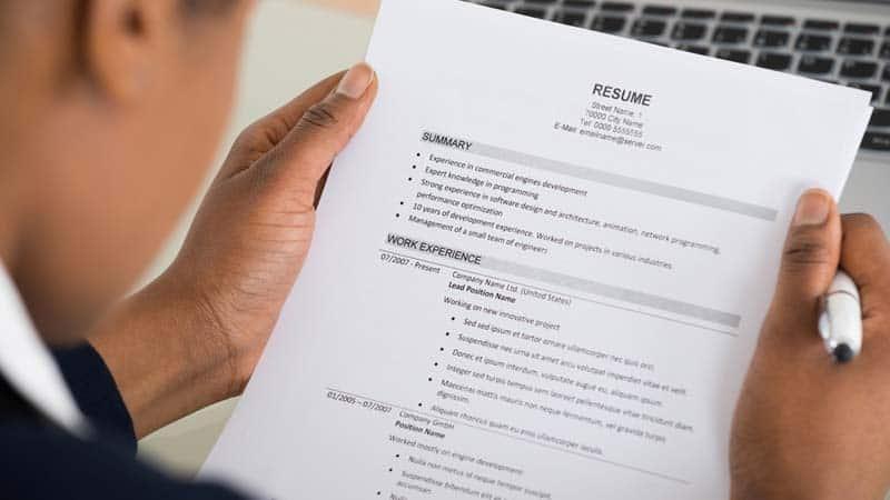 comment rediger cv sans experience professionnelle
