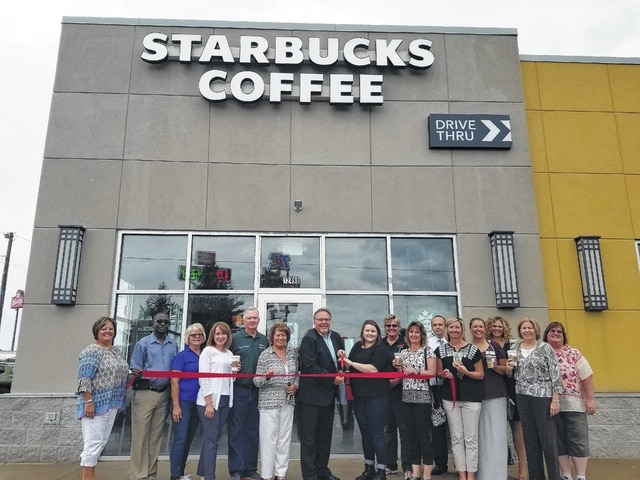 Starbucks officially opens in county - The Record Herald