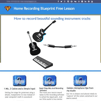 free home recording lessons