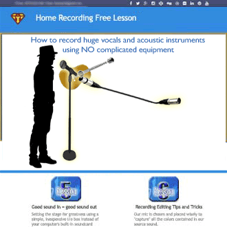 home recording lesson 1