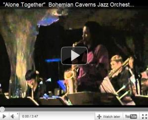 Bohemian Caverns Jazz Orchestra - Alone Together