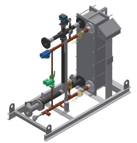 Plate Exchanger Thermo PlatePac Storage Tank  Heat Exchanger