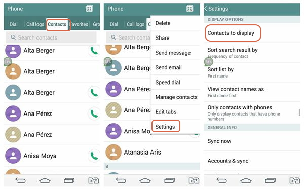 How to Recover Deleted or Lost Phone Numbers on Android phones