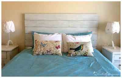 diy-wooden-headboard-country-chic recreated designs via www.thepainteddrawer.com