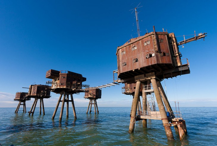 Maunsell morskie forty w Anglii