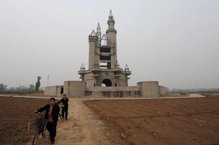 Opuszczony park rozrywki w Pekinie, Chiny
