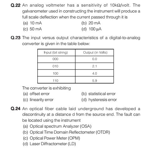 BSNL JTO Previous Papers   Download BSNL Jr Telecom Officer Model Papers