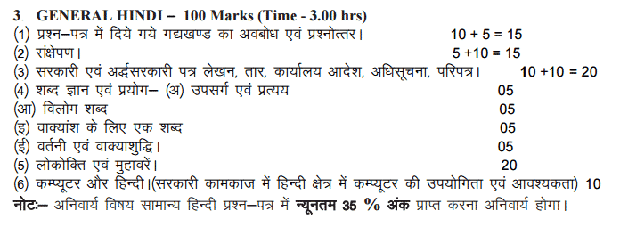 UKPSC Ranger Mains Syllabus   UKPSC Forest Ranger Exam Pattern 2015