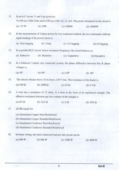 NTPC Diploma Trainee Previous Papers   NTPC Diploma Trainee Sample Papers ntpc.co.in