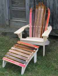 Ski Chair & Other Winter Furniture  Recyclart